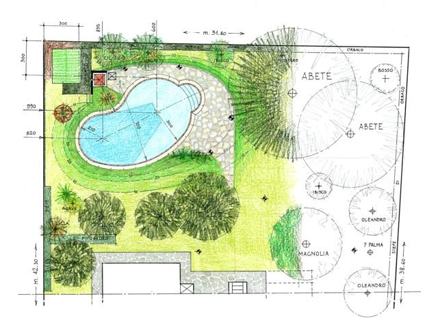 Fagiolo d acqua in giardino architetto irene maggi for Disegno giardini