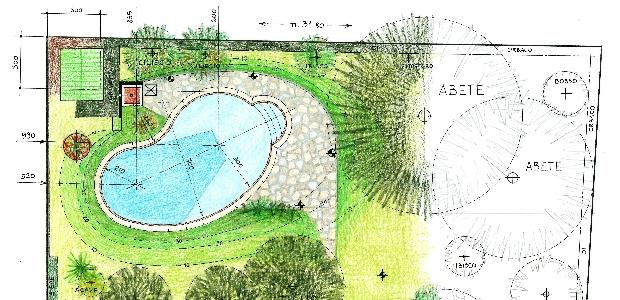 Progetti architetto irene maggi milano studio di - Progetto villa con piscina ...