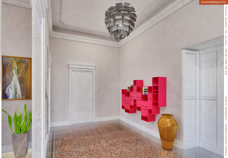 Progetti architetto irene maggi milano studio di for Architetto interni